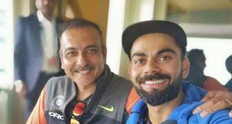 Kohli, Rahane wish coach Shastri on 58th birthday