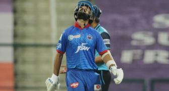 Why this Delhi Capitals star was disappointed
