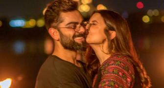 Anushka and Virat's loved-up pics!