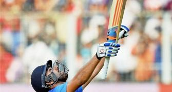 November 13, 2014: Rohit makes ODI history