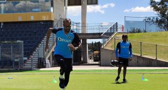 PIX: Team India clear COVID test; begin training