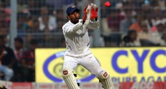 Saha will be fit for Australia Tests, says Ganguly