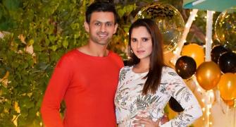 PIX: At Sania Mirza's birthday party