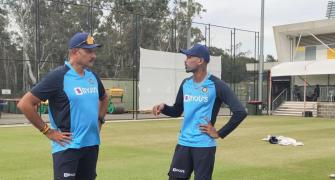'Back to business': Shastri preps with team in Sydney
