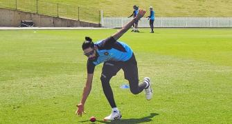 PIX: India's Test players hone their fielding skills