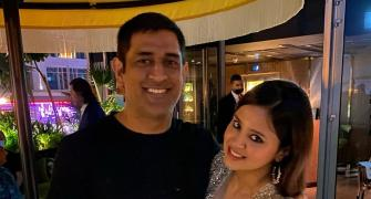 What are Dhoni and Sania up to?
