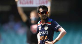 Chahal begins Aus tour with dubious record