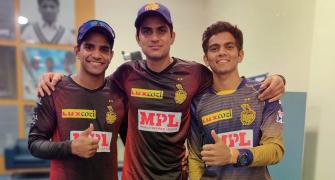 SEE: Kolkata Knight Riders' dressing room