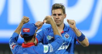 Nortje confident of DC's bowling ahead of RCB clash