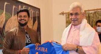 Raina to set up sports academies in J&K