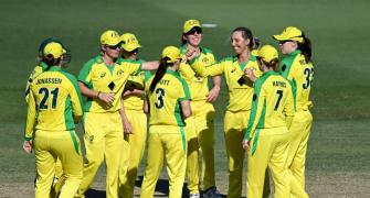 Aus women share ODI record with Ponting's men
