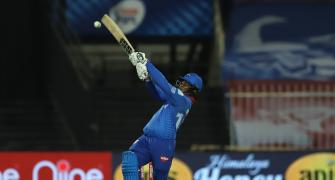 PICS: Hetmyer, Stoinis star as Delhi humble Rajasthan