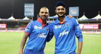 Dhawan praises Axar after last over heroics
