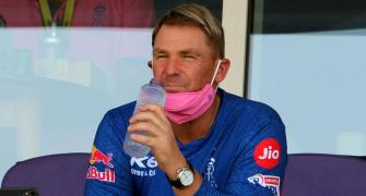 SEE: Warne wants to go on a date with...