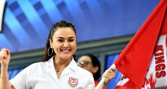 PIX: Preity Zinta's priceless reactions