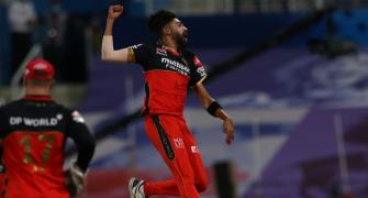 Siraj sheds light on his 'magical' IPL performance