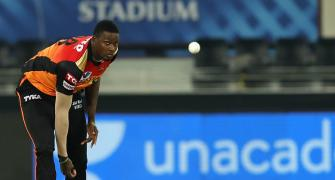 Holder impresses on debut for SRH