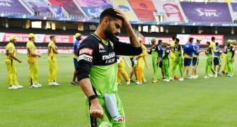 We weren't expressive enough, says Kohli after CSK loss