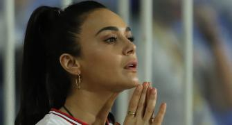 PIX: Preity rejoices after another KXIP win