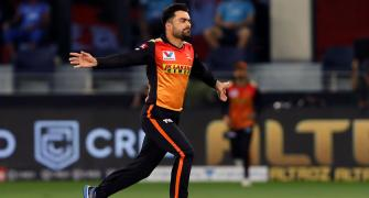 PICS: Ray of hope for SunRisers after Delhi demolition