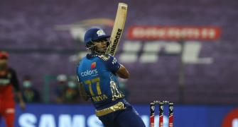 PIX: Surya shines as Mumbai Indians crush RCB
