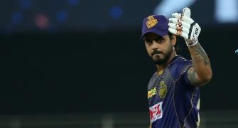 PICS: Kolkata Knight Riders vs Chennai Super Kings