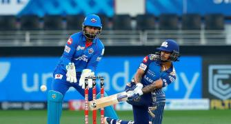 PICS: Mumbai Indians prove too good for Delhi Capitals