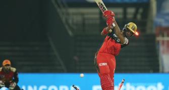 PICS: Royal Challengers vs SunRisers Hyderabad