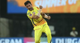 SEE: CSK pacer Chahar recovers from COVID-19
