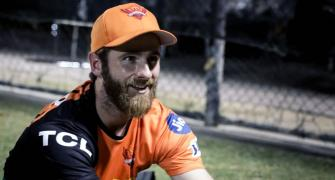 SEE: 'Iceman' Williamson cools down UAE
