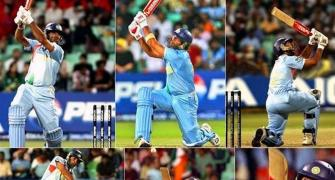 'How time flies': Yuvraj recalls six sixes