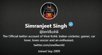 Why Kohli changed his name to Simranjeet...