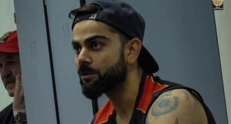 SEE: Inside Kohli's RCB dressing room