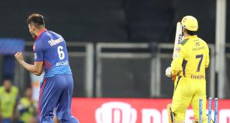 Dhoni's wicket is dream realised for DC's Avesh Khan
