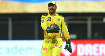 Dhoni fined for slow over rate in CSK's opener