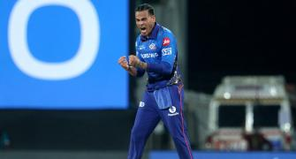 PIX: Chahar shines as Mumbai Indians rally to beat KKR