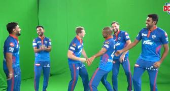 WATCH! Pant, Dhawan, Smith, Ashwin DANCE