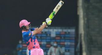 PICS: Late Morris assault enables Rajasthan slay Delhi