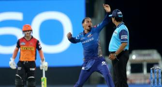 Rohit lauds MI bowlers after SRH crumble in chase