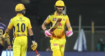 PIX: Faf, Chahar set up CSK's thrilling win over KKR