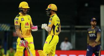 Faf's innovation with bat makes my job easier: Ruturaj