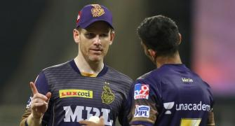 Morgan fined Rs 12 lakh for KKR's slow over-rate