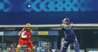 IPL PICS: Mumbai Indians vs Punjab Kings