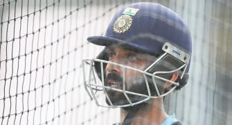 SEE: Rahane enjoys net session at Chepauk