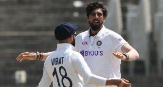 'I wish to see Ishant get 400-500 Test wickets'