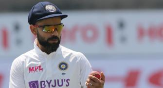 Not pleased with quality of SG Test balls, says Kohli