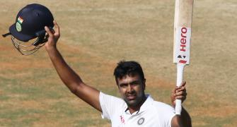 Ashwin wows home crowd with all-round brilliance