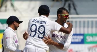 Axar takes five as India trounce England