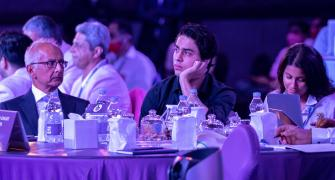 Aryan Khan attends IPL auction for the first time