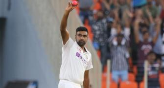 Ashwin attains 400 wickets mark in Tests